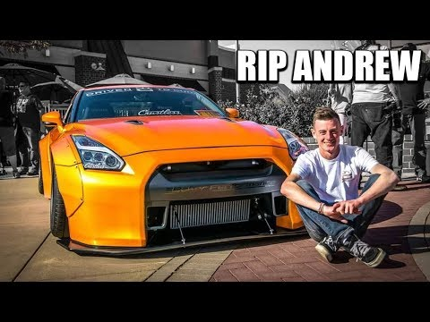 RIP Andrew. The Most Incredible Car Guy I Ever Met