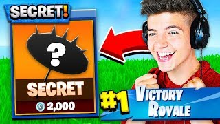 *NEW* Fortnite Season 5 SECRET ITEM! HOW TO UNLOCK! (Season 5 Battle Pass)