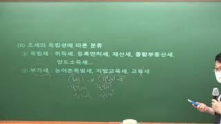 [강서박문각] 공인중개사 2021년 세법 전훈교수 7월…