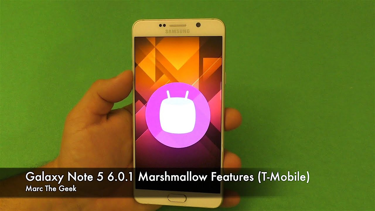 Samsung Galaxy Marshmallow Update Info (2017)