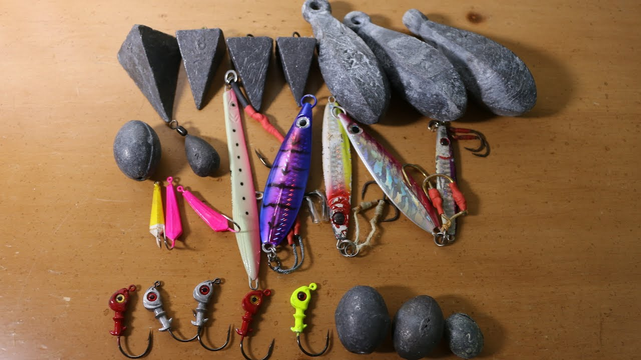 ALL This Could Be YOURS!!! Make YOUR Own Fishing Weights, Sinkers + Jigs  (Tackle Tuesday)