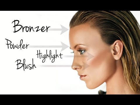 The basics powder bronzer highlighter blush makeup tutorial the basics powder bronzer highlighter blush makeup tutorial ccuart Images