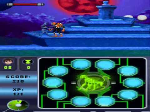 Ben 10 Alien Force Vilgax Attacks Ds Walkthrough Part 1