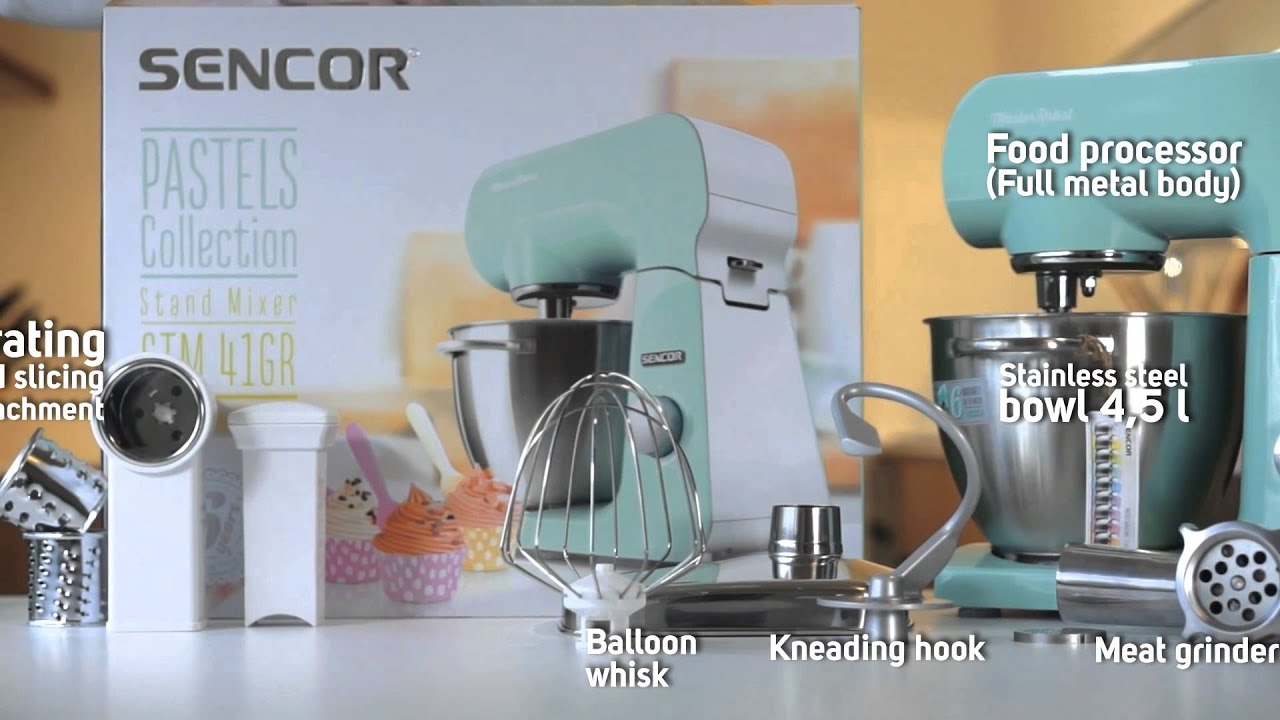 Food Processor SENCOR STM 41GR - YouTube