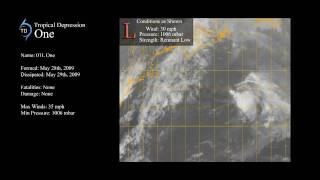 2009 - Tropical Depression One