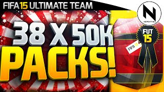 38 X 50,000 COINS PACKS! HOLY SHIT!!! - FIFA 15 Ultimate Team