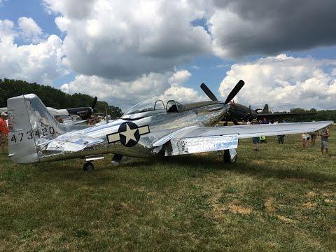 2016 National Warplane Museum Airshow , Geneseo, NY