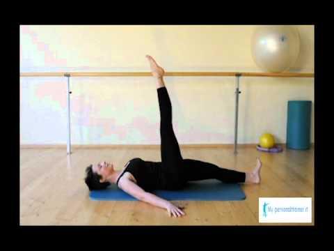 Single Leg circles Esercizi Pilates