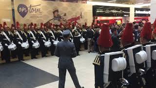 Presentación Escuela Militar Bernardo O'Higgins en Mall Costanera Center 2018 - Santiago. Parte 2