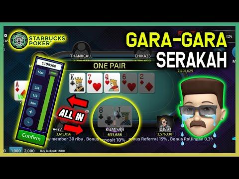 Tipe Pemain Serakah Bermain Poker Online, Jangan Dicontoh !! | Si Kumis