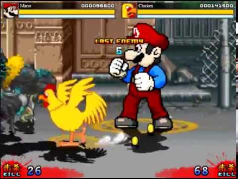 Mario And Chicken Vs Zombies Crazy Zombie 9