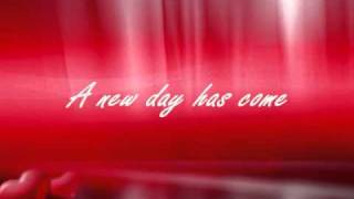 Céline Dion- A New Day Has Come (Slow) (Lyrics)