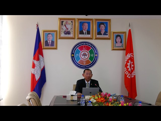 H.E. KSP Cham Prasidh, Senior Minister of Industry, Science, Technology and Innovation of Cambodia