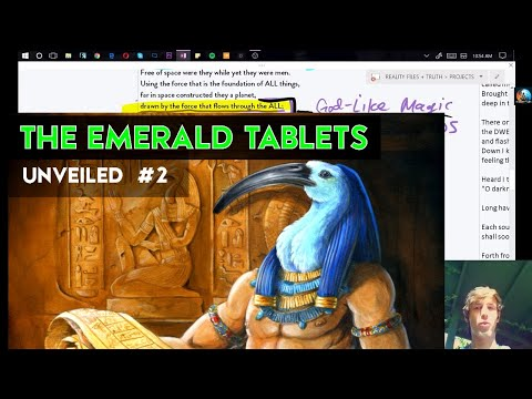 EMERALD TABLETS of Thoth Explained #2 - SPACE BORN 🌟 (Ancient Sacred Texts Unveiled Ep.3)