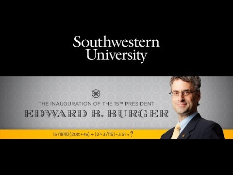 The Inauguration of the 15th President, Edward B. Burger