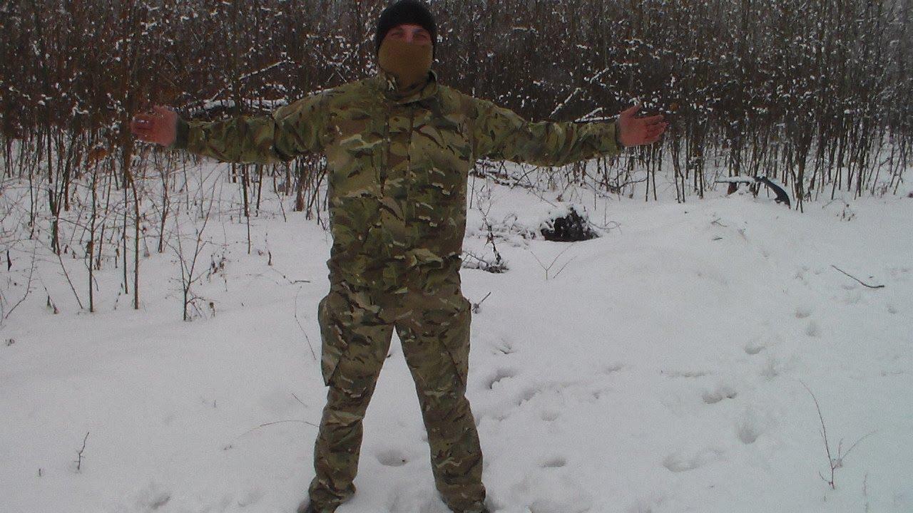 Парка (куртка) Desert DDPM (ДДПМ) армии Великобритании. - YouTube