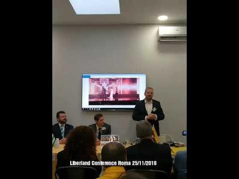 Liberland Conference Roma 25 11 2018