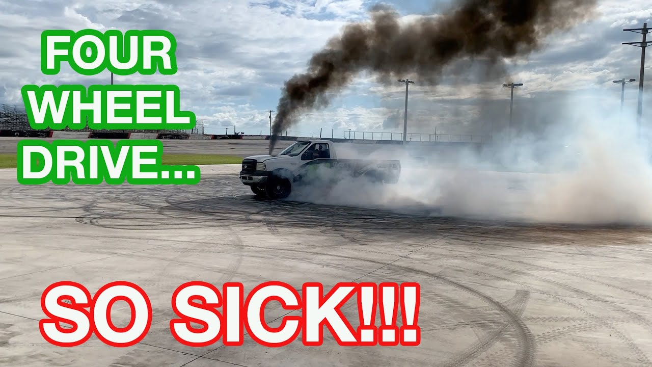 4X4 BURNOUTS!!!!! The Burnout Truck Is Getting ROWDY!!! Also Spectator Drags at The Freedom Factory!