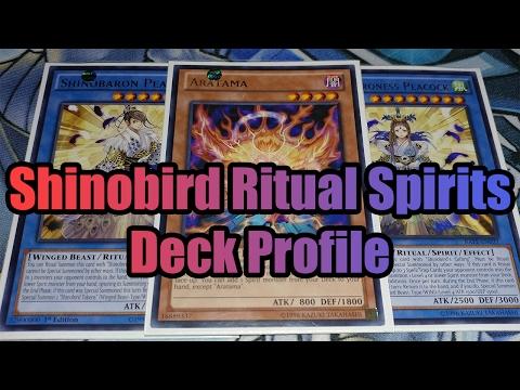 Shinobird Ritual Spirits Yugioh Deck Profile 2017 (Raging Tempest)