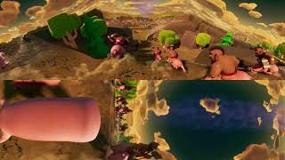 clash of clans VR 360 video
