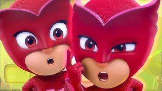PJ Masks Season 2 ❤️Double Owlette...?! ❤️ PJ Masks 2019 ⭐️4K HD | Superhero Cartoons for Kids