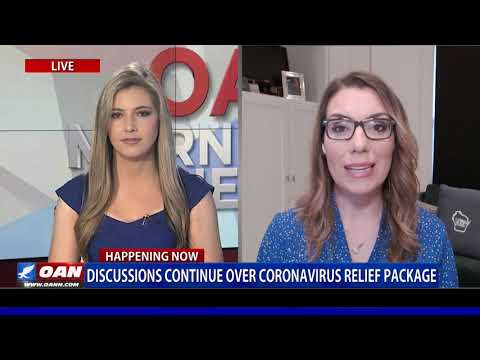 Discussions continue over coronavirus relief package