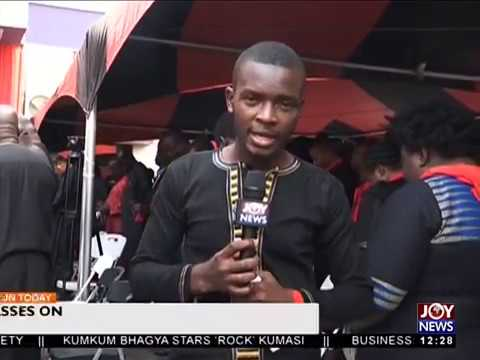 The Multimedia Holds Memorial Service for Late KABA - Joy News Today (20-11-17)