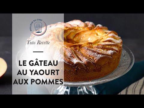 tuto-recette-:-le-gâteau-au-yaourt-aux-pommes-!