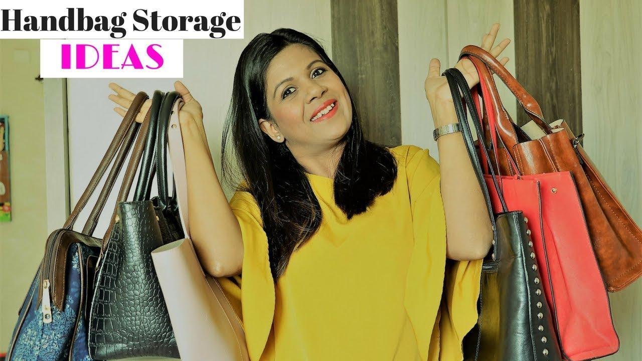 Handbag Storage Ideas ; 6 Tips To Maximize The Storage ...