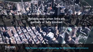 Tarana Wireless demonstrates True NLOS wireless transport in Manhattan