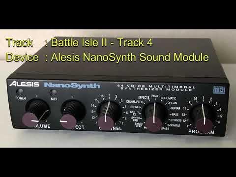 Battle Isle II - Track 4 [Alesis NanoSynth Sound Module]