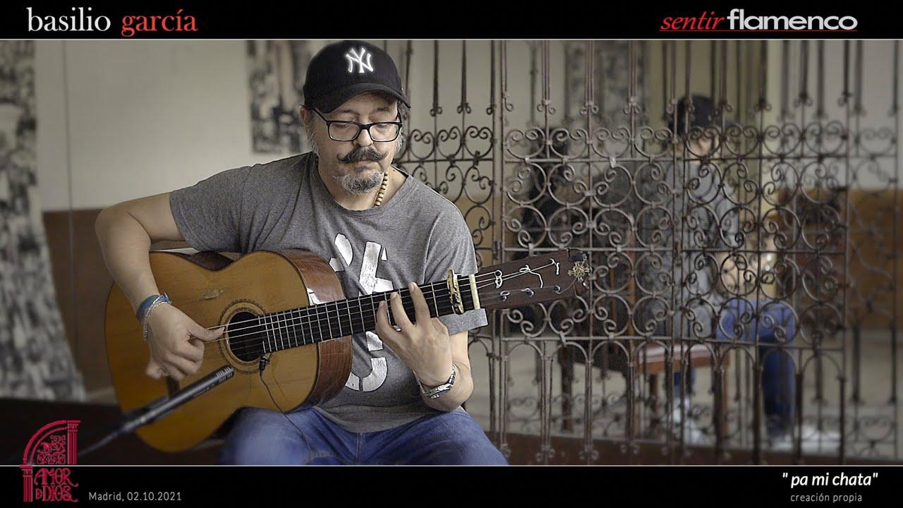 """Basilio García toca su Rondeña  """"Pa Mi Chata"""" con su Guitarra """"Pedro de Miguel""""   Amor de Dios"""