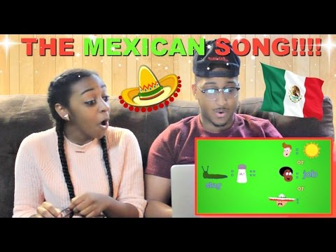 """The Mexican People Song"" by ZFLONetwork Reaction!!!"