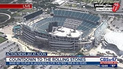 Countdown to the Rolling Stones concert in Jacksonville