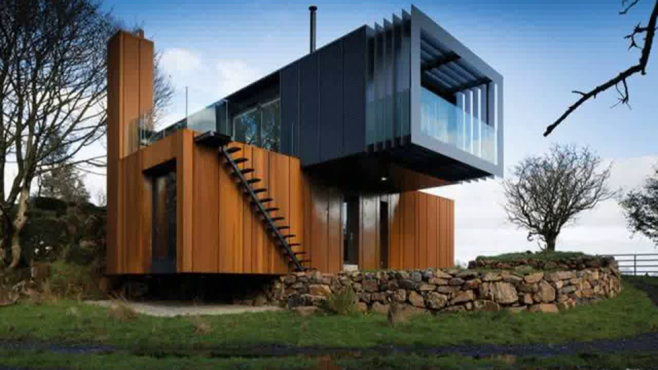 Grand designs shipping container house queensland modern - Shipping container home designers ...