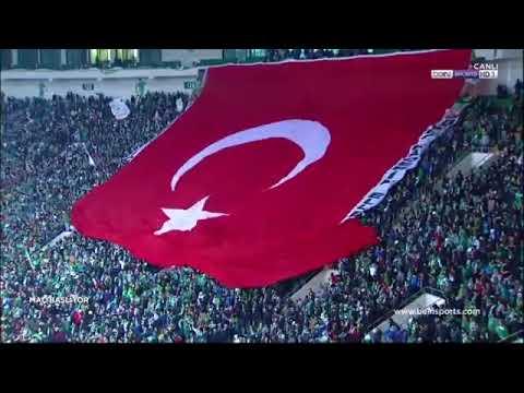Bursaspor 2016-2017 sezonu en iyi tribünü TEKSAS