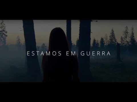Estamos Em Guerra - Aline Marques (Lyric Video)