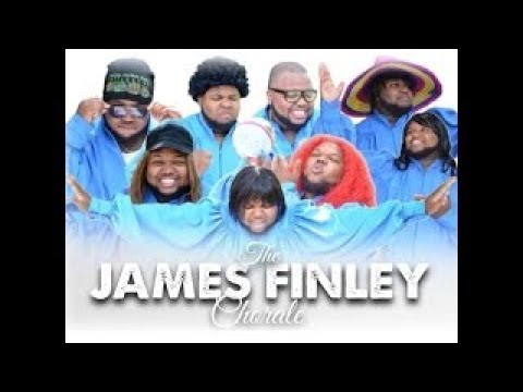 #ChoirsBeLike The James Finley Chorale sings