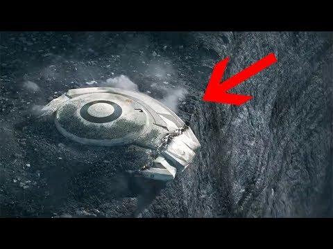 Ağrı Dağına Düşen UFO