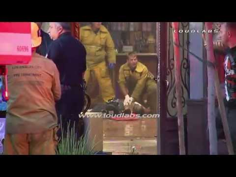 1 Killed 4 Hurt at Pre-BET Awards Party - Hollywood   RAW FOOTAGE