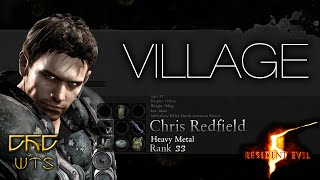 RE5 - Mercenaries Reunion Guide SS RANK Chris Heavy Metal - Village [NARRADO]