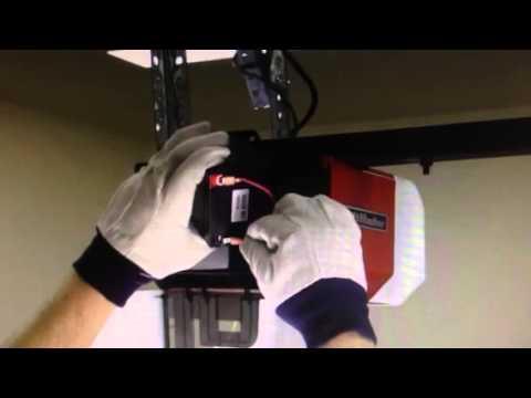 Liftmaster Garage Door Battery Replacement Youtube