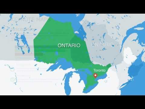 Ontario Canada Keynote Maps