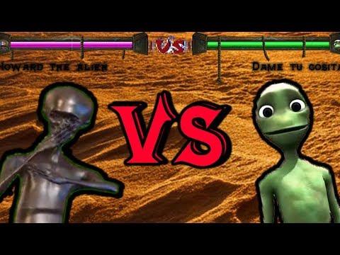 [MORTAL KOMBAT] Howard The Alien VS Dame Tu Cosita