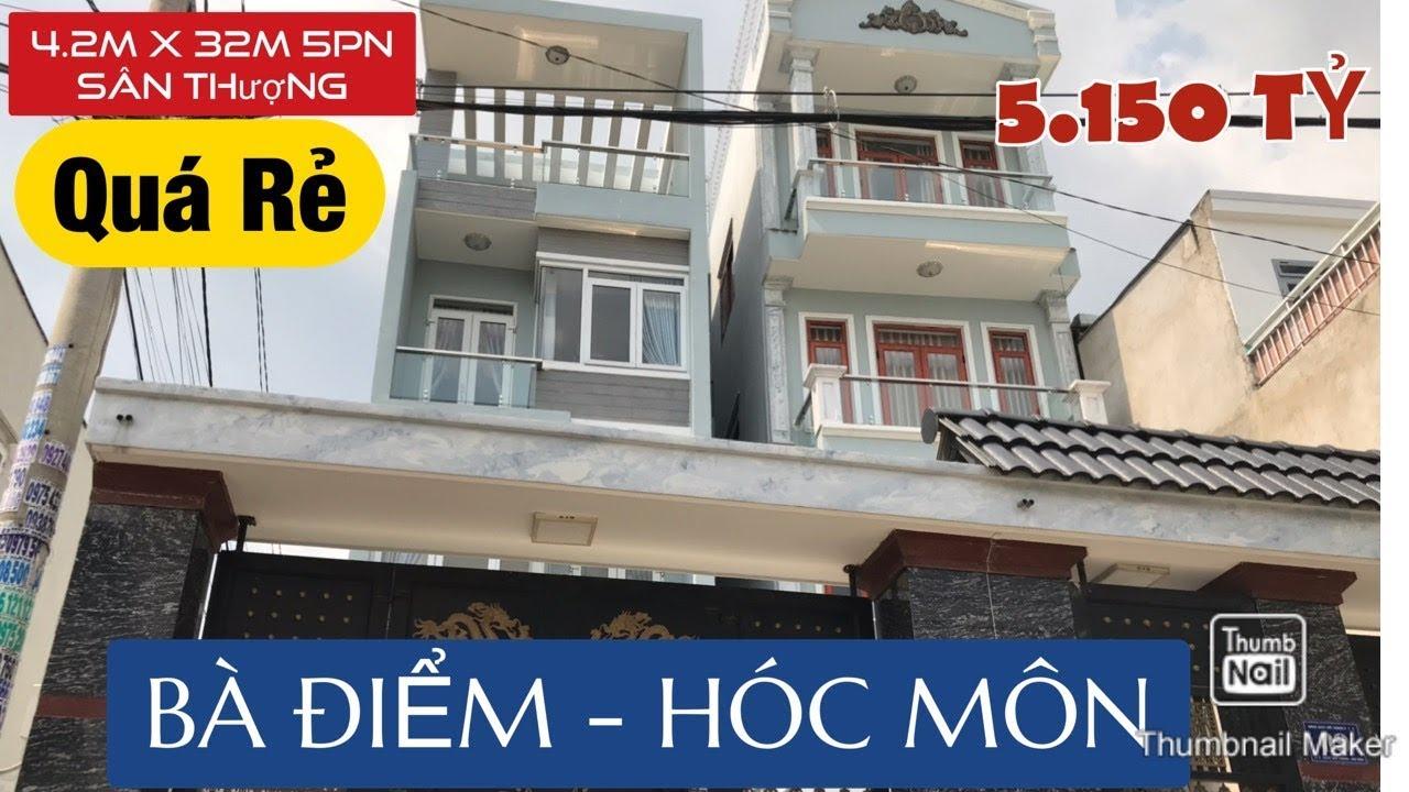 image Bán nhà đất Hóc Môn ✅ Bán Nhà phố Sổ Hồng Riêng 4.2 X 32 m đường Phan Văn Hớn gần Chợ Đại Hải