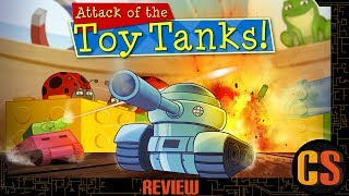 ATTACK OF THE TOY TANKS - PS4 REVIEW (Video Game Video Review)