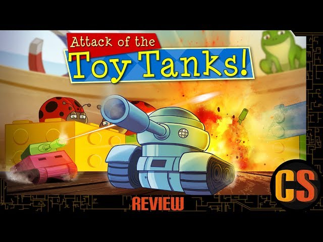 ATTACK OF THE TOY TANKS - PS4 REVIEW