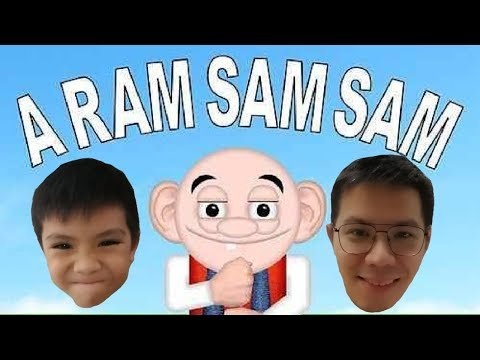 A Ram Sam Sam Song Dance Challenge | Nursery Rhymes