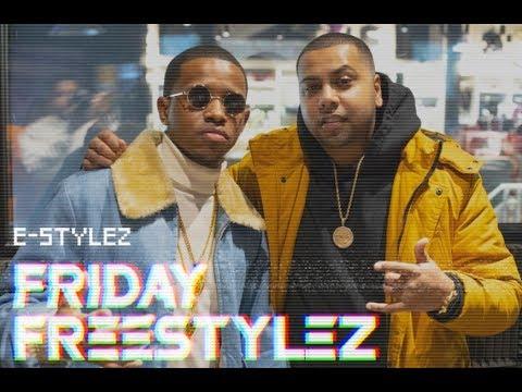 Jimmy Jazz Radio - E-stylez Friday Freestyles w/ Mill Vill (@joemillvill)