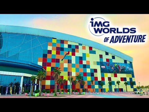IMG Worlds of Adventure Vlog 4th December 2019